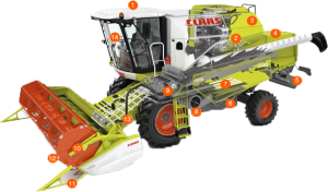 Chiptuning Claas Avero 240 - 7.0 - Perkins - 205 PK